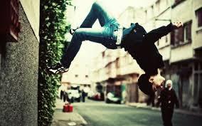 Jeans Urban Parkour Stunt 2560x1600 Wallpaper Art HD