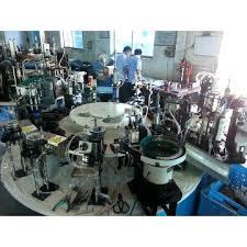 tiema china rotary type automatic led l assembly machine