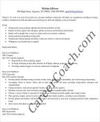 Entry Level Healthcare Administrative Assistant Resume