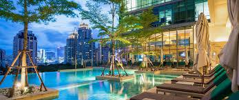 100 Infinity Swimming Pool Sivatel Bangkok