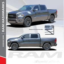 100 Ram Truck Decals RAM HASHMARKS 20192020 Dodge Hood Hash Marks Stripes