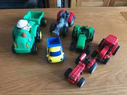 A Bundle Of 5 Toy Tractors, 1 Trailer, 1 Dumper / Pick Up Truck & 1 ... Sleich Horse Club Pick Up Truck With Box Trailer Morrisey Johnny Lightning 164 2018 2a 1950 Chevrolet Kubota New Holland Volvo Newray Toys Ca Inc Vintage Farm And Livestock Carrier Circus Animal Amazoncom Toy State Road Rippers Light Sound Trucks Pickup Trailers Awesome Toys Nylint Lime Green 1970s Die Jadrem Atc Alinum Hauler Pickup Truck Horse Trailer Games Compare Prices Luxury Welly 1 87 Cast