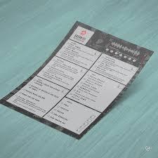 Vector Diseño De Menú De Restaurante Restaurantes