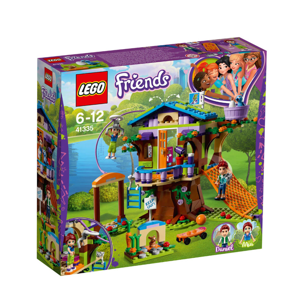LEGO Friends Mia's Tree House Building Kit - 351 Pieces