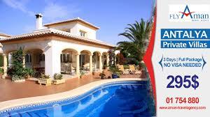 100 Aman Villas Antalya Private Villa Fly Travel Agency