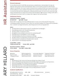 Download Hr Resume Examples Manager Cv Template Uk Example Advisor