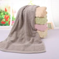 Decorative Hand Towel Sets by 50 100cm 2pcs Grey Large Cotton Terry Hand Towels Set Bulk Soft