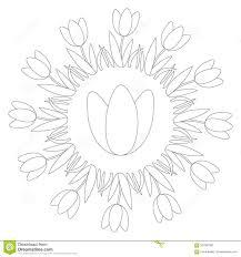 Tulipe 28 Nature Coloriages À Imprimer Pour Tulipe A Dessiner