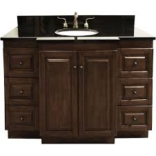 48 Bath Vanity Without Top by Alexander 48 Inch Astoria Espresso Bathroom Vanity Without Top