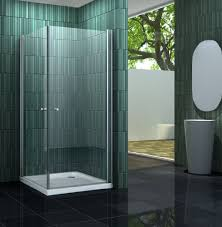 rahmenlose duschkabine banho mit beschichtung zur leichteren reinigung