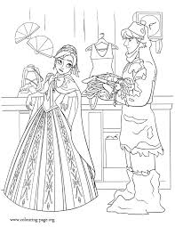Frozen 90 Animation Movies Printable Coloring Pages