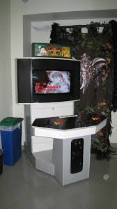 Arcade Cabinet Plans 32 Lcd by Showcase Cabinet Arcade Plans Mancave Pinterest Arcade