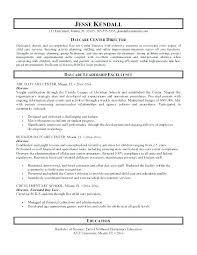Sample Resume Child Care Worker Examples Inside Provider