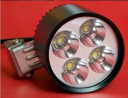 free ship 15w 3 led cree chip day work flood spot light bike car