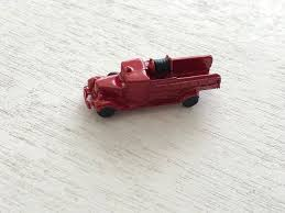 Miniature Fire Truck, Mini Toy, Dollhouse Miniature, 1:12 Scale ...