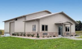 neak pole barn with living quarters floor plans