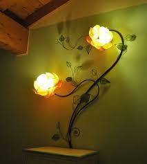 european style garden wall l flower sconce bedroom for lights