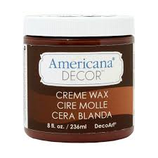 Americana Decor Chalky Finish Paint Tutorial by Americana Decor Creme Wax