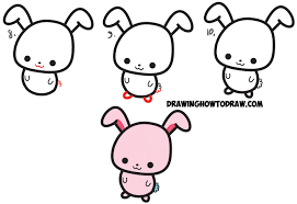 Cute Easy Cartoon Drawings How To Draw Cute Cartoon Characters From Semicolons – Easy