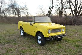 100 Convertible Pickup Truck Yellow 4x4 Bronco V8 Classic