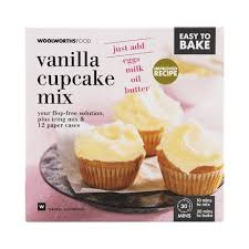 Easy To Bake Vanilla Cupcake Mix 680g