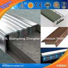 Tile Stair Nosing Trim by Oem Aluminium Anti Slip Stair Nosings Aluminum Stair Nosing For