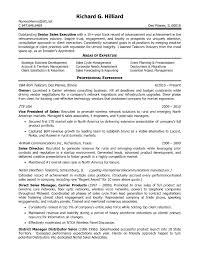 Sample Resume Of Sales Manager In Telecom Best Tele Executive