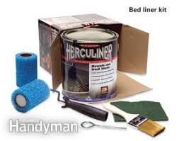 Rustoleum Bed Liner Colors by How To Brush On Bed Liner Paint In A Pickup Truck Family Handyman