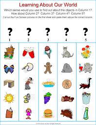 Sight And May Five Preschool Senses Me 2012 Nonna
