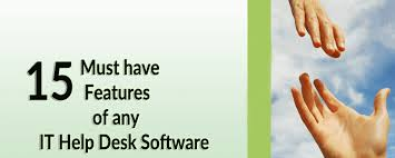 Service Desk Software Features by 15 Must Have Features Of Any It Help Desk Software