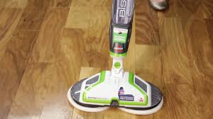Bissell Hardwood Floor Cleaners by How To Use The Spinwave Hard Floor Bissell Youtube