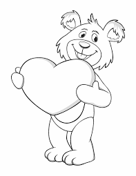 Funny Heart Coloring Pages