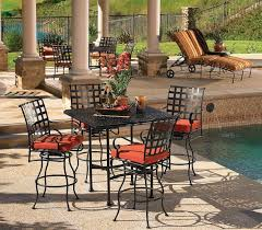 Meadowcraft Patio Furniture Cushions by Western Wrought Iron Patio Furniture