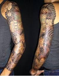 Celebrity Japanese Sleeve Tattoo