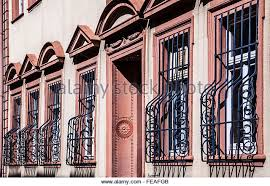 Decorative Security Grilles For Windows Uk by Wrought Iron Window Bars Stock Photos U0026 Wrought Iron Window Bars