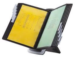 pochette bureau durable kit de bureau sherpa style 10 pochettes transparentes a4