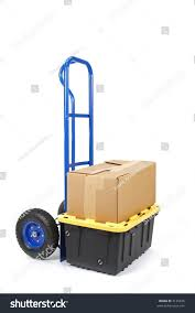 Handtruck Dolly Boxes Ready Moving Stock Photo (Edit Now) 3135636 ...