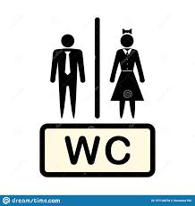 vektorikone die mann und frau symbol bezeichnet konzept