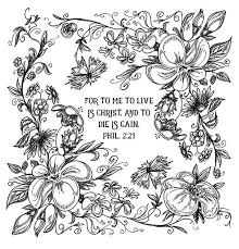 Free Printable Scripture Verse Coloring Pages Verses Adult And