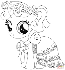 My Little Pony Coloring Pages Free Books
