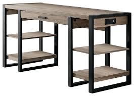 Ameriwood Computer Desk With Shelves by Black Desk With Shelves Small Corner Desks With Storage White Desk