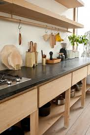 Maybe Open Shelving At The Bottom For Our Heavy Pots Is A Better Option Than Closed Cupboards Mjolk Kitchen