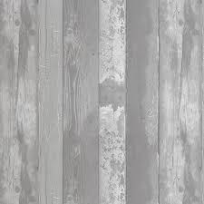 Grey Wood Pattern Wallpaper