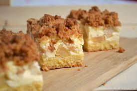 chèvre culinaire apfel schmand kuchen mit amarettinistreuseln
