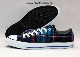 converse all plaid all plaid low top sneaker blue black canada outlet shop