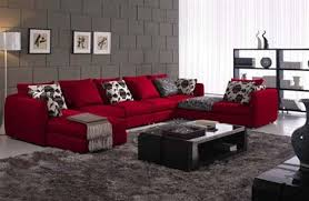 Black Red And Gray Living Room Ideas by Or Do I Go With Grey Walls Since That U0027s The Other Dominant Color
