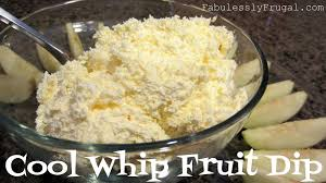 Pumpkin Fluff Recipe Cool Whip by Cool Whip Fruit Dip Recipe Fabulessly Frugal