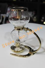 MYMG04 Syphon Coffee Maker Vacuum Brewer Siphon Machine Balance With Stainless Steel Handle Classic