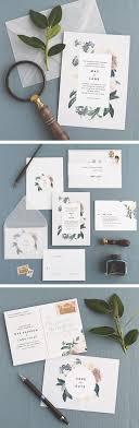 Jardin Wedding Invitation Correspondence Set Vintage Garden Florals And Navy Accents Sample