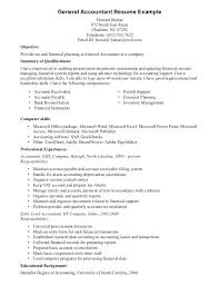 Resume Objective Format Example General For Samples